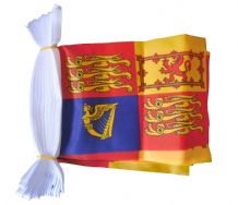 ROYAL STANDARD BUNTING - 9 METRES 30 FLAGS